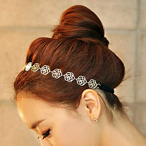 cheap Hair Jewelry-Women's For Fashion Alloy Gold