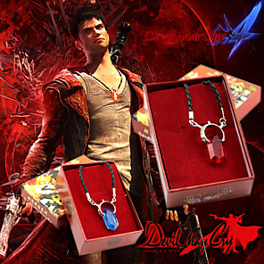 cheap Videogame Cosplay Accessories-Jewelry Inspired by Devil May Cry Cosplay Anime / Video Games Cosplay Accessories Necklace Artificial Gemstones / Alloy Men's / Women's 855