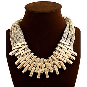 povoljno Modne ogrlice-Žene Choker oglice slojeviti Ogrlice Više slojeva Kićanka Moda Više slojeva Legura zaslon u boji Ogrlice Jewelry Za
