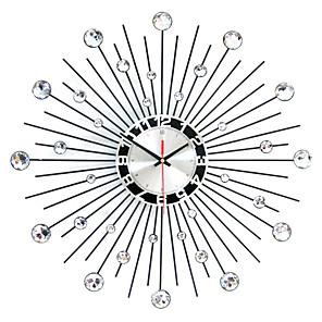 cheap Wall Clocks-Modern Round Iron Wall Clock