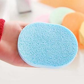 cheap Facial Care Devices-Korean Style Facial Thick Sponge 2pcs/Bag