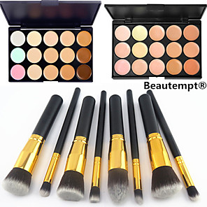cheap Concealers & Contours-Professional Makeup Brushes Blush Brush 8pcs Eco-friendly Professional Full Coverage Synthetic Synthetic Hair / Artificial Fibre Brush for Blush Brush Eyeshadow Brush Powder Brush