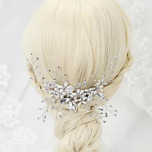 povoljno Party lente-Imitacija bisera / Umjetno drago kamenje / Legura Kose za kosu s 1 Vjenčanje / Special Occasion Glava