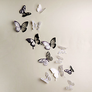 cheap Wall Stickers-Animals / 3D Wall Stickers 3D Wall Stickers Decorative Wall Stickers, Vinyl Home Decoration Wall Decal Wall Decoration 18 / Removable