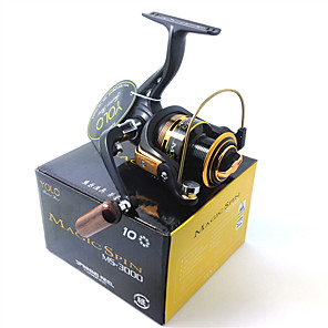 cheap Fishing Reels-Fishing Reel Spinning Reel 5.1:1 Gear Ratio+10 Ball Bearings Hand Orientation Exchangable Bait Casting / Ice Fishing / Spinning - MS3000 / Freshwater Fishing / Carp Fishing / General Fishing