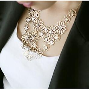 povoljno Modne ogrlice-jeftino Statement Zabava Legura Zlato Obala Ogrlice Jewelry Za