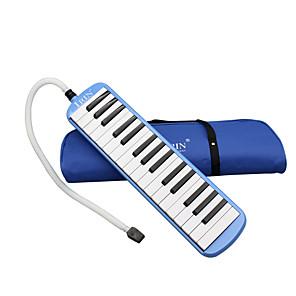 cheap Wind Instruments-Blue IRIN32 Key Mouth Organ