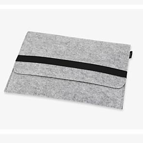 cheap Sleeves,Cases & Covers-11,13,15 inch Wool Felt Inner Notebook Laptop Sleeve Bag Case for Macbook Air/Pro/Retina Samsung HP Dell