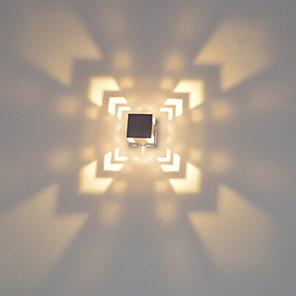 cheap Flush Mount Wall Lights-Modern Mini 3W LED Modern Light Aluminum Flush Mount Wall Lamp LED Integrated Hallway Bedside Bedroom