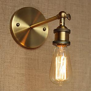 cheap Indoor Wall Lights-Rustic / Lodge Wall Lamps & Sconces Metal Wall Light 220V / 110V 40W / E26 / E27