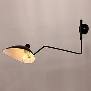 cheap Indoor Wall Lights-Traditional / Classic Swing Arm Lights Metal Wall Light 110-120V / 220-240V 40 W / E26 / E27