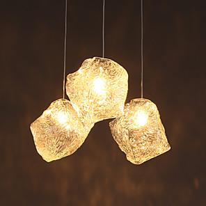 cheap Pendant Lights-1-Light 25 cm LED Pendant Light Glass Glass Mini Modern Contemporary