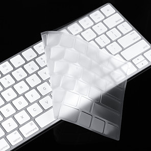 cheap iPhone Screen Protectors-For Apple Magic Keyboard Clear TPU Laptop Keyboard Cover Skin Protective Film, US layout