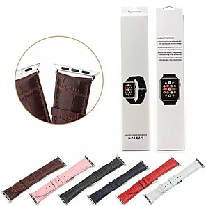 cheap Smartwatch Bands-Watch Band for Apple Watch Series 5/4/3/2/1 Apple Classic Buckle Genuine Leather Wrist Strap