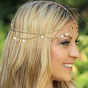 cheap Hair Jewelry-Women's Headbands For Wedding Party Daily Casual Alloy