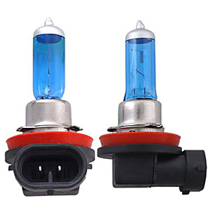 cheap Car Fog Lights-2pcs H11 Car Light Bulbs 55W 1300lm Halogen Headlamp