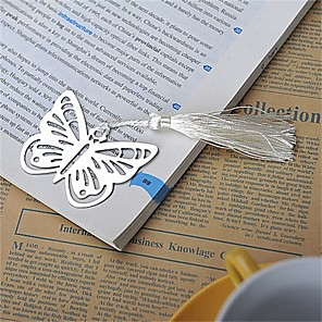 cheap Gifts & Decorations-Wedding / Anniversary / Engagement Party Stainless Steel Bookmarks & Letter Openers Garden Theme / Asian Theme / Butterfly Theme - 1 pcs