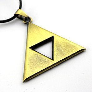 cheap Videogame Cosplay Accessories-Jewelry Inspired by The Legend of Zelda Cosplay Anime / Video Games Cosplay Accessories Necklace Alloy Men's / Women's 855