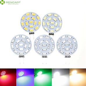 cheap LED Spot Lights-SENCART 5pcs 7 W 700-900 lm G4 LED Spotlight MR11 15 LED Beads SMD 5630 Dimmable Warm White / Natural White / Red 12 V / 24 V / 9-30 V / 5 pcs / RoHS