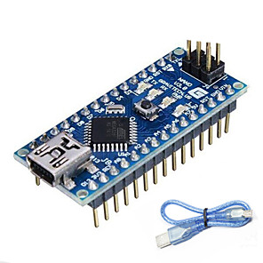 cheap Smartphone Game Accessories-Nano V3.0 ATMEGA328P for Arduino (Works with Official Arduino Boards)