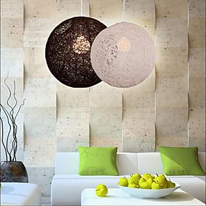 cheap Pendant Lights-1-Light LED Pendant Light Resin Resin Globe Others Modern Contemporary