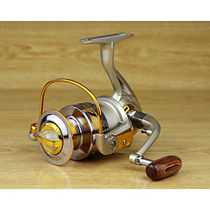 cheap Fishing Reels-Fishing Reel Spinning Reel 5.5:1 Gear Ratio+10 Ball Bearings Hand Orientation Exchangable Spinning - EF4000 / EF5000 / EF6000 / EF7000