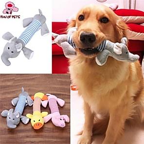 cheap Dog Toys-Plush Toy Cat Toy Dog Toy Pet Toy Squeak / Squeaking Sponge Gift