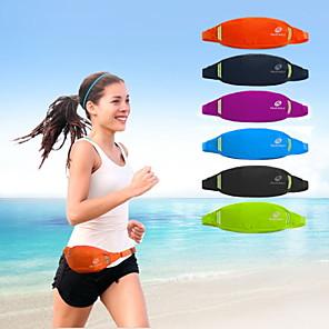 cheap Running Bags-Nuckily Running Belt Fanny Pack Waist Bag / Waist pack 5 L for Running Marathon Camping / Hiking Climbing Sports Bag Multifunctional Waterproof Wearable Nylon Waterproof Material Running Bag