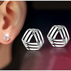 cheap Earrings-Women's Stud Earrings Pearl Earrings Jewelry Screen Color For