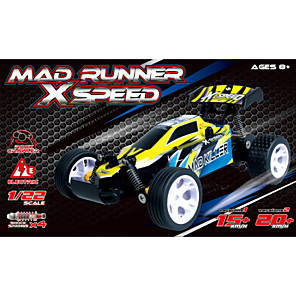 cheap RC Cars-New Arrival Boys RC Car Electric Toys 1:22 Vehicle 4CH Remote Control Car 2WD Shaft Drive Truck