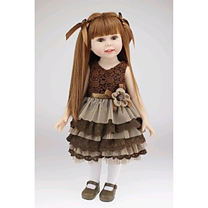 """cheap Reborn Doll-NPKCOLLECTION Reborn Doll Newborn lifelike Cute Hand Made Child Safe Full Body Silicone 18"""" with Clothes and Accessories for Girls' Birthday and Festival Gifts / Non Toxic / Lovely / CE Certified"""