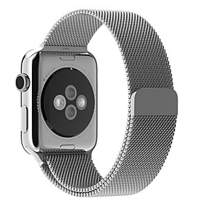 cheap Smartwatch Bands-Watch Band for Apple Watch Series 4/3/2/1 Apple Milanese Loop Stainless Steel Wrist Strap