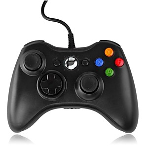 cheap Video Game Accessories-Xbox Wired Controller for 360 Xbox Generic Wired USB Controller compatible con Xbox 360 y Slim/Windows/PC