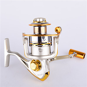 cheap Fishing Reels-Spinning Reel 5.2:1 Gear Ratio+11 Ball Bearings Hand Orientation Exchangable Sea Fishing / Spinning / Freshwater Fishing - FC5000 / General Fishing