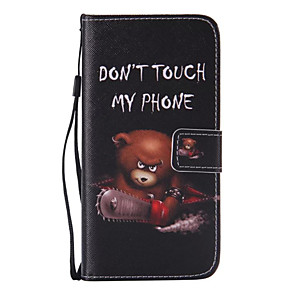 cheap Samsung Case-Case For Samsung Galaxy S7 edge / S7 Wallet / Card Holder / with Stand Full Body Cases Cartoon PU Leather