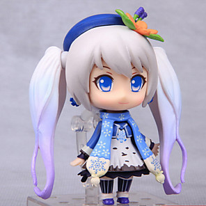 cheap Stuffed Animals-Anime Action Figures Inspired by Vocaloid Hatsune Miku PVC(PolyVinyl Chloride) 16 cm CM Model Toys Doll Toy