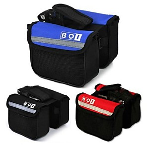 cheap Bike Handlebar Bags-BOI 2 L Bike Handlebar Bag Quick Dry Bike Bag Nylon Oxford Bicycle Bag Cycle Bag Cycling / Bike