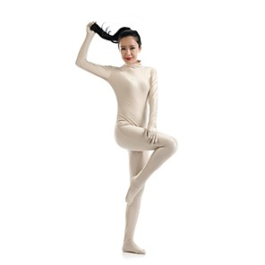 cheap Movie & TV Theme Costumes-Zentai Suits Ninja Spandex Lycra Cosplay Costumes Men's Women's Solid Colored Christmas Halloween / Leotard / Onesie / Catsuit / Leotard / Onesie / Catsuit / High Elasticity