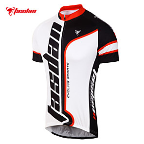 cheap Cycling Jerseys-TASDAN Men's Short Sleeve Cycling Jersey Bike Jersey Top Clothing Suit Mountain Bike MTB Road Bike Cycling Breathable Quick Dry Sweat-wicking Sports Clothing Apparel / Stretchy