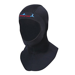 cheap Wetsuits, Diving Suits & Rash Guard Shirts-Dive&Sail Diving Wetsuit Hood 3mm Neoprene for Adults - Thermal / Warm UV Sun Protection Ultraviolet Resistant Swimming Diving Snorkeling / Men's / Women's