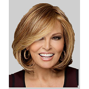 cheap Synthetic Trendy Wigs-Synthetic Wig Straight Straight Wig Blonde Short Synthetic Hair Women's Blonde StrongBeauty