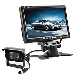 cheap Car Rear View Camera-7 inch 170 Degree Car Rear View Kit Waterproof / Night Vision LED for Bus