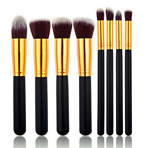 cheap Makeup Brush Sets-Professional Makeup Brushes Makeup Brush Set 8pcs Synthetic Hair / Artificial Fibre Brush Makeup Brushes for Makeup Brush Set