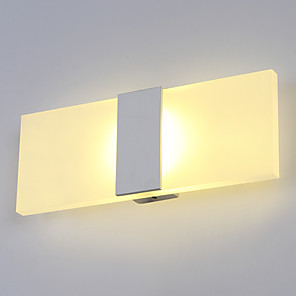 cheap LED Cabinet Lights-Modern Contemporary Wall Lamps & Sconces Metal Wall Light 110-120V / 220-240V 6 W / LED Integrated