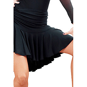 cheap Latin Dancewear-Latin Dance Skirt Women's Training Natural Viscose / Ballroom