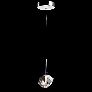 povoljno Otok Svjetla-CXYlight 9(3.5'') Crystal / Mini Style Privjesak Svjetla Metal Mini Electroplated Suvremena suvremena 110-120V / 220-240V