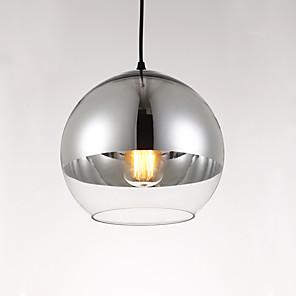 povoljno Dizajn kruga-20CM dizajneri Privjesak Svjetla Glass Glass Glob Electroplated Suvremena suvremena 110-120V / 220-240V