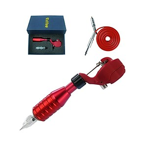 cheap Tattoo Ink-1set-rotary-tattoo-gun-machine-motor-eyebrow-body-liner-and-shader-with-rca-cable-kit-random-color