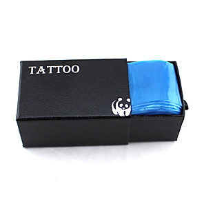 cheap Tattoo Transfers & Supplies-Tattoo Accessories 100pcs Tattoo Clip Cord Cover Tattoo Supplies Tools