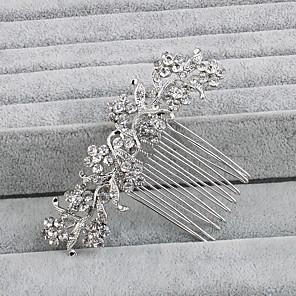 povoljno Party lente-Umjetno drago kamenje Kose za kosu s 1 Vjenčanje / Special Occasion / Kauzalni Glava
